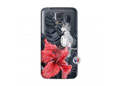Coque Samsung Galaxy S5 Mini Papagal