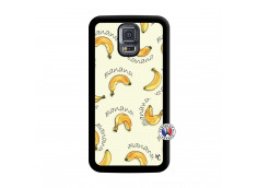 Coque Samsung Galaxy S5 Mini Sorbet Banana Split Noir