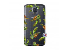 Coque Samsung Galaxy S5 Mini Tortue Géniale