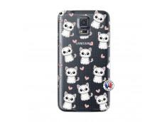 Coque Samsung Galaxy S5 Mini Petits Chats