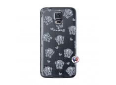 Coque Samsung Galaxy S5 Mini Petits Elephants