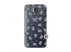 Coque Samsung Galaxy S5 Mini Petits Hippos