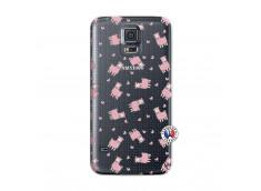 Coque Samsung Galaxy S5 Mini Petits Moutons