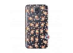 Coque Samsung Galaxy S5 Mini Petits Renards