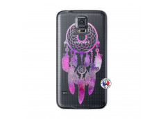 Coque Samsung Galaxy S5 Mini Purple Dreamcatcher