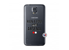 Coque Samsung Galaxy S5 Mini Rien A Foot Allez Arsenal