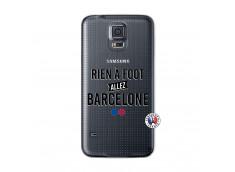 Coque Samsung Galaxy S5 Mini Rien A Foot Allez Barcelone