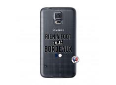Coque Samsung Galaxy S5 Mini Rien A Foot Allez Bordeaux