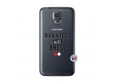 Coque Samsung Galaxy S5 Mini Rien A Foot Allez Brest