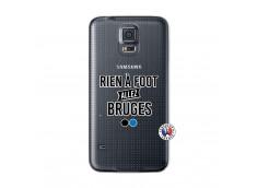 Coque Samsung Galaxy S5 Mini Rien A Foot Allez Bruges