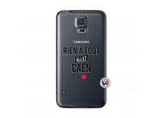 Coque Samsung Galaxy S5 Mini Rien A Foot Allez Caen