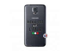 Coque Samsung Galaxy S5 Mini Rien A Foot Allez L'Italie