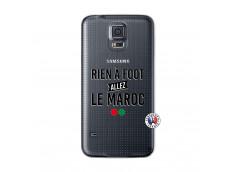 Coque Samsung Galaxy S5 Mini Rien A Foot Allez Le Maroc