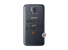 Coque Samsung Galaxy S5 Mini Rien A Foot Allez Le Portugal