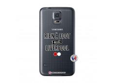 Coque Samsung Galaxy S5 Mini Rien A Foot Allez Liverpool