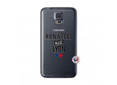 Coque Samsung Galaxy S5 Mini Rien A Foot Allez Lyon