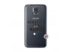 Coque Samsung Galaxy S5 Mini Rien A Foot Allez Madrid