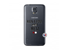 Coque Samsung Galaxy S5 Mini Rien A Foot Allez Metz