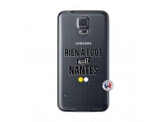Coque Samsung Galaxy S5 Mini Rien A Foot Allez Nantes