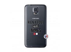Coque Samsung Galaxy S5 Mini Rien A Foot Allez Nimes