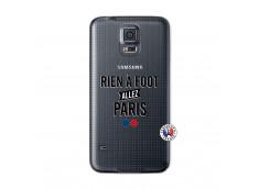 Coque Samsung Galaxy S5 Mini Rien A Foot Allez Paris