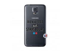 Coque Samsung Galaxy S5 Mini Rien A Foot Allez Strasbourg