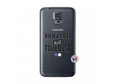 Coque Samsung Galaxy S5 Mini Rien A Foot Allez Toulouse