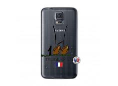 Coque Samsung Galaxy S5 Mini 100 % Rugbyman Entre les Poteaux
