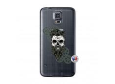 Coque Samsung Galaxy S5 Mini Skull Hipster