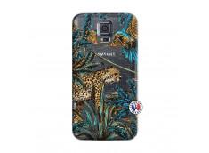 Coque Samsung Galaxy S5 Mini Leopard Jungle