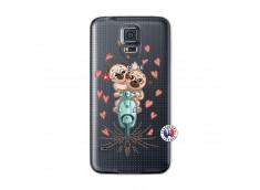 Coque Samsung Galaxy S5 Mini Puppies Love