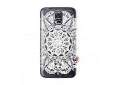 Coque Samsung Galaxy S5 Mini White Mandala