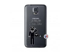 Coque Samsung Galaxy S5 Je peux pas j'suis pilote