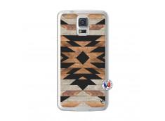 Coque Samsung Galaxy S5 Aztec Translu