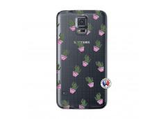 Coque Samsung Galaxy S5 Cactus Pattern