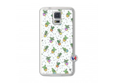Coque Samsung Galaxy S5 Le Monde Entier est un Cactus Translu