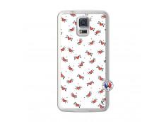 Coque Samsung Galaxy S5 Cartoon Heart Translu