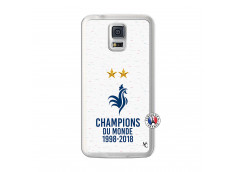 Coque Samsung Galaxy S5 Champion Du Monde Translu