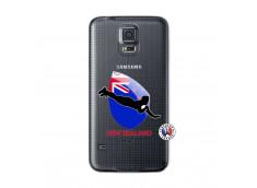 Coque Samsung Galaxy S5 Coupe du Monde Rugby- Nouvelle Zélande