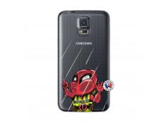 Coque Samsung Galaxy S5 Dead Gilet Jaune Impact