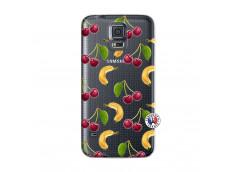 Coque Samsung Galaxy S5 Hey Cherry, j'ai la Banane