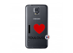 Coque Samsung Galaxy S5 I Love Toulouse