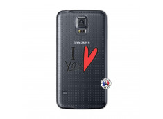 Coque Samsung Galaxy S5 I Love You