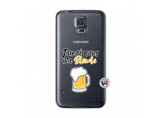 Coque Samsung Galaxy S5 Jamais Sans Ma Blonde