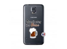 Coque Samsung Galaxy S5 Jamais Sans Ma Brune