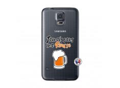 Coque Samsung Galaxy S5 Jamais Sans Ma Rousse
