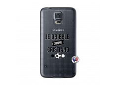 Coque Samsung Galaxy S5 Je Dribble Comme Cristiano