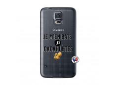 Coque Samsung Galaxy S5 Je M En Bas Les Cacahuetes