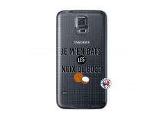Coque Samsung Galaxy S5 Je m'en bats Les Noix De Coco