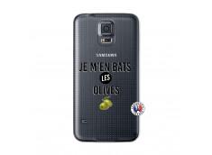 Coque Samsung Galaxy S5 Je M En Bas Les Olives